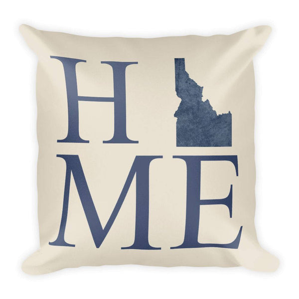 Idaho Map Pillow – Modern Map Art