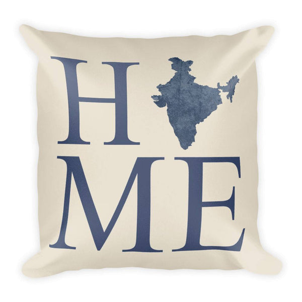 India Map Pillow – Modern Map Art