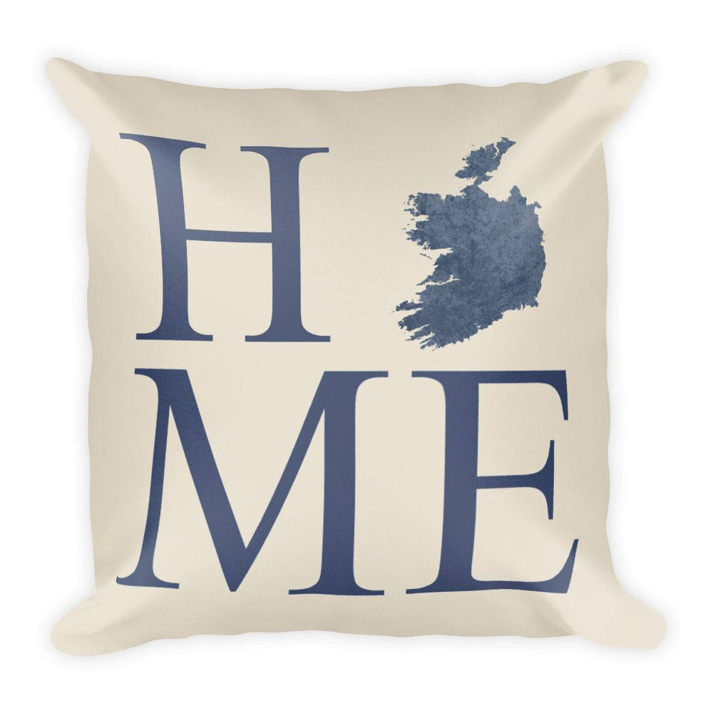 Ireland Map Pillow – Modern Map Art