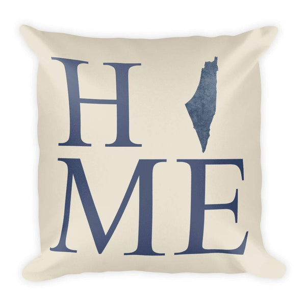 Israel Map Pillow – Modern Map Art