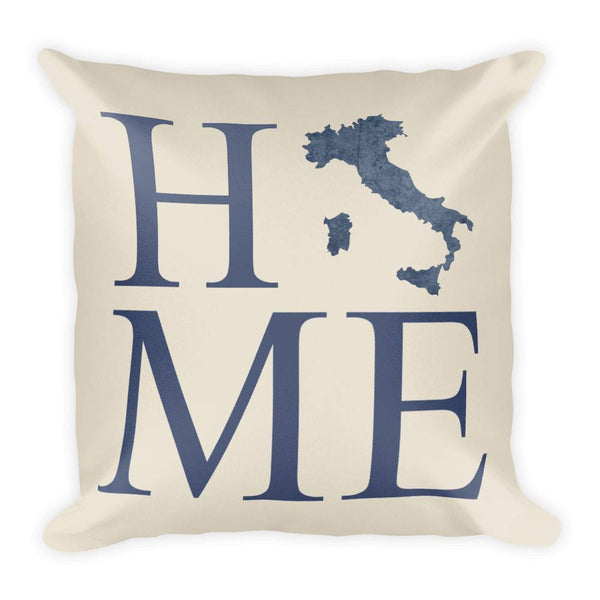 Italy Map Pillow – Modern Map Art