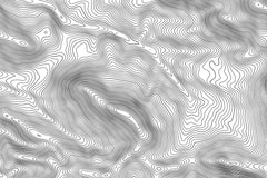 Jackson Hole Topographic Map Art
