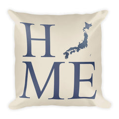 Japan Map Pillow – Modern Map Art