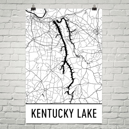 Kentucky Lake TN Art and Maps