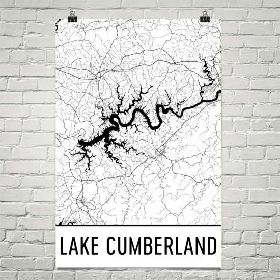 Lake Cumberland KY Art and Maps