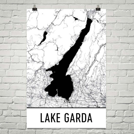 Lake Garda Italy Art and Maps