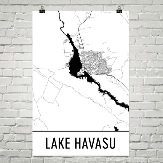 Lake Havasu AZ Art and Maps