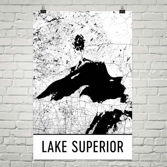 Lake Superior Art and Maps