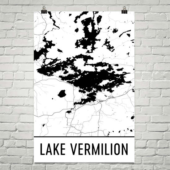 Lake Vermillion MN Art and Maps