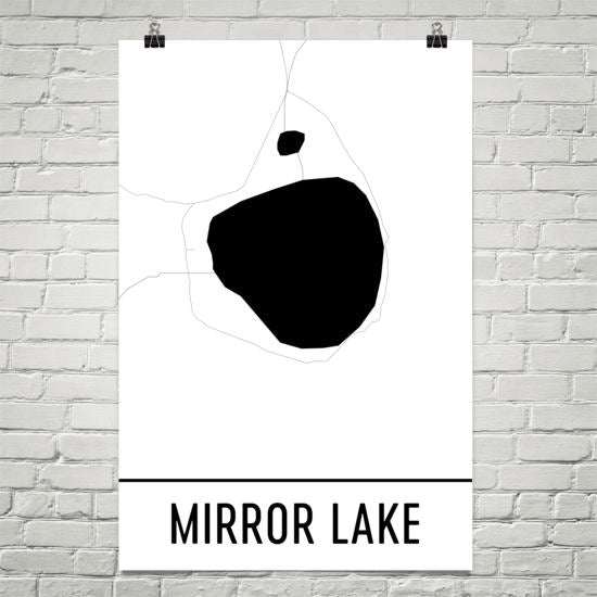 Mirror Lake OR Art and Maps