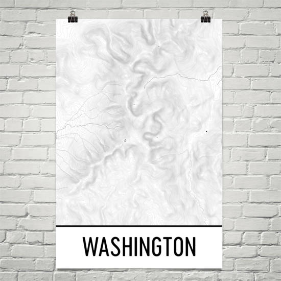 Mount Washington Topographic Maps