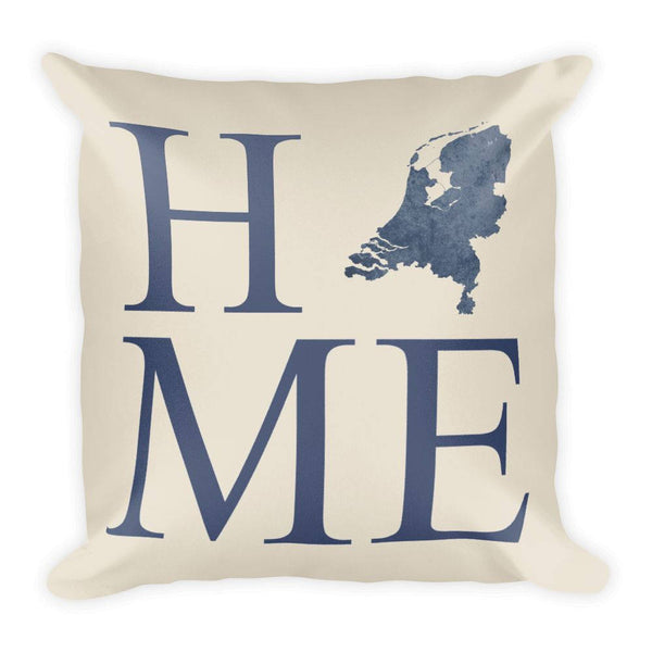 Netherlands Map Pillow – Modern Map Art