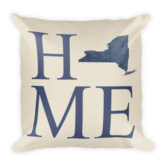New York City Map Pillow – Modern Map Art
