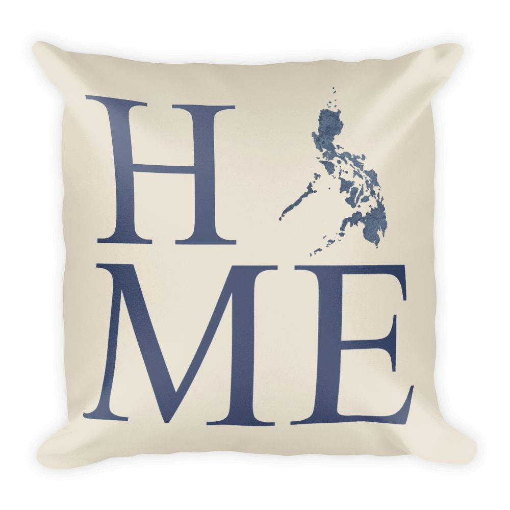 Philippines Map Pillow – Modern Map Art