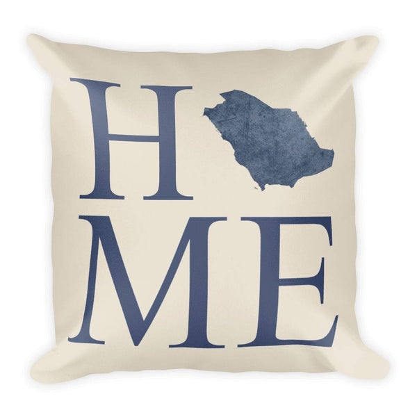 Saudi Arabia Map Pillow – Modern Map Art