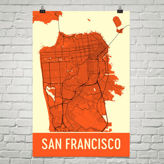 San Francisco CA Street Map Poster on maryland map poster, florida map poster, united states map poster, california poster, chicago map poster, ohio map poster, toronto map poster, paris map poster, germany map poster, los angeles poster, brooklyn map poster, venice map poster, indianapolis map poster, mississippi map poster, hong kong map poster, austin map poster, new england map poster, seattle map poster, columbus map poster, north carolina map poster,