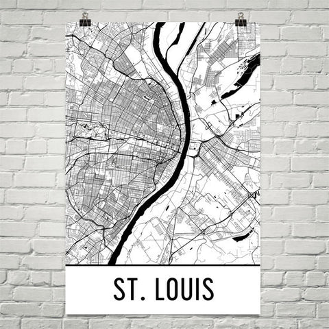 Missouri Gifts, Souvenirs, and MO Décor – Modern Map Art