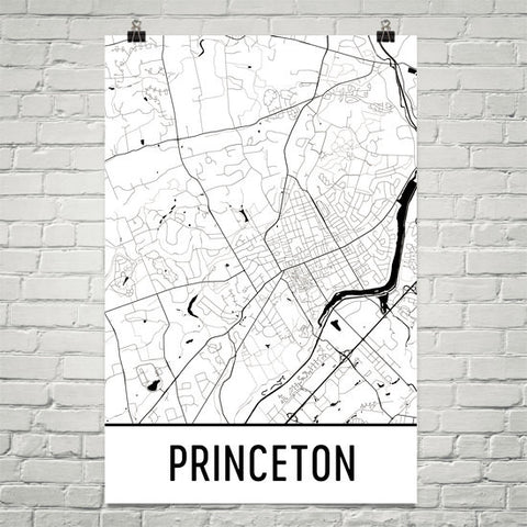 New Jersey Gifts, Souvenirs, and NJ Décor – Modern Map Art