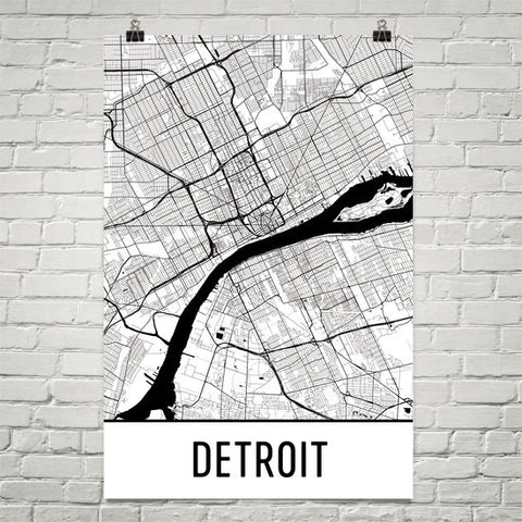 Michigan Gifts, Souvenirs, and MI Décor – Modern Map Art
