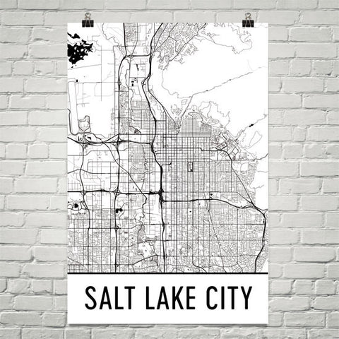 Utah Gifts, Souvenirs, and UT Décor – Modern Map Art