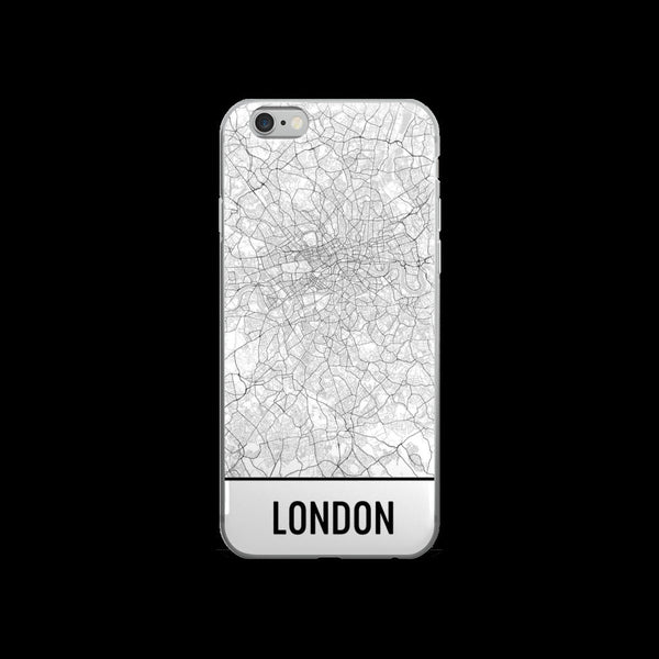 London Map iPhone 5 or 5s Case by Modern Map Art