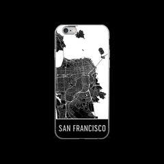 San Francisco Map iPhone 6 Plus or 6s Case by Modern Map Art