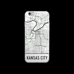 Kansas City Map iPhone 5 or 5s Case by Modern Map Art