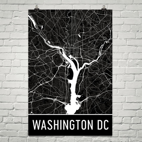 Washington Gifts, Souvenirs, and WA Décor – Modern Map Art