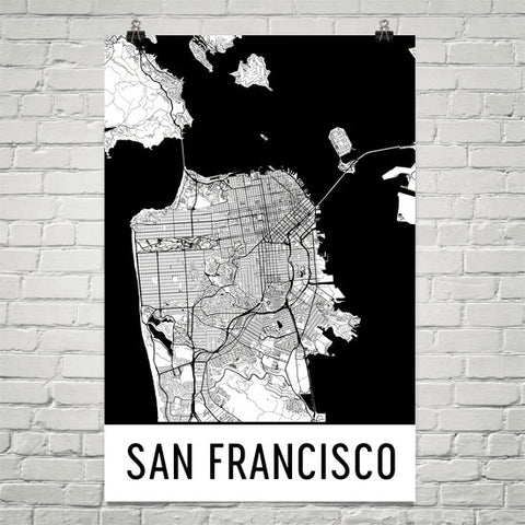 California Gifts, Souvenirs, and CA Décor – Modern Map Art