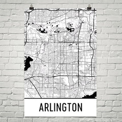 Custom Map, Art, Print, Poster, Wall Art From $29.99 - ModernMapArt