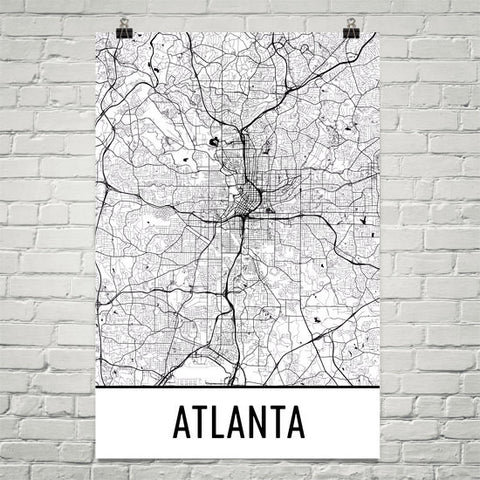 Georgia Gifts, Souvenirs, and GA Décor – Modern Map Art