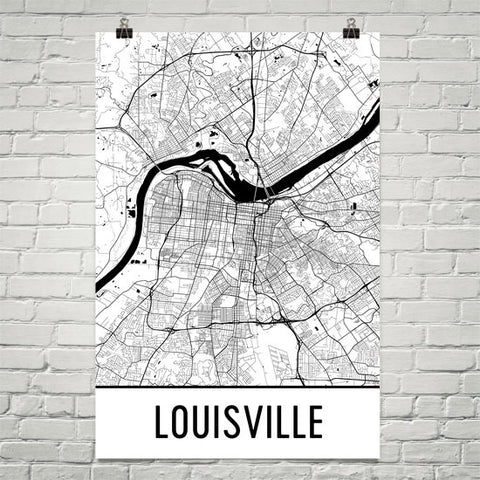 Kentucky Gifts, Souvenirs, and KY Décor – Modern Map Art