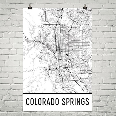 Colorado Gifts, Souvenirs, and CO Décor – Modern Map Art