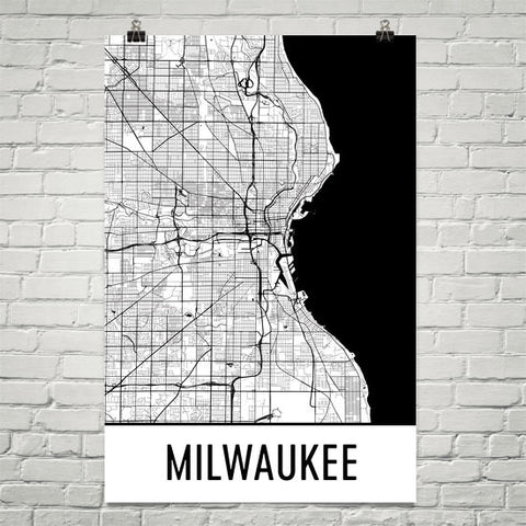 Wisconsin Gifts, Souvenirs, and WI Décor – Modern Map Art