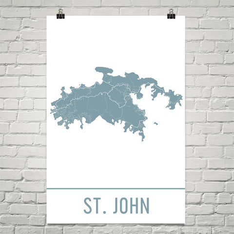 St. John Gifts and Decor
