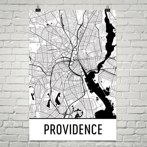 Rhode Island Gifts, Souvenirs, and RI Décor – Modern Map Art