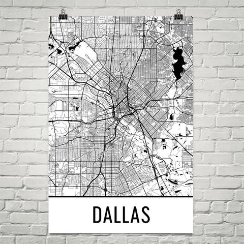Texas Gifts, Souvenirs, and TX Décor – Modern Map Art