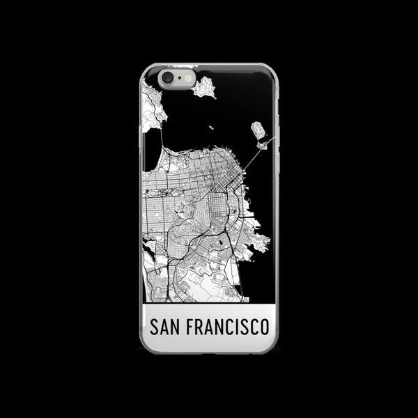 San Francisco Map iPhone 5 or 5s Case by Modern Map Art