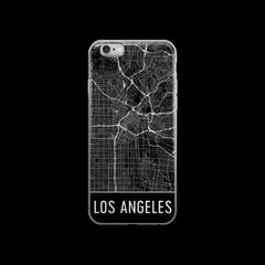 Los Angeles Map Case by Modern Map Art