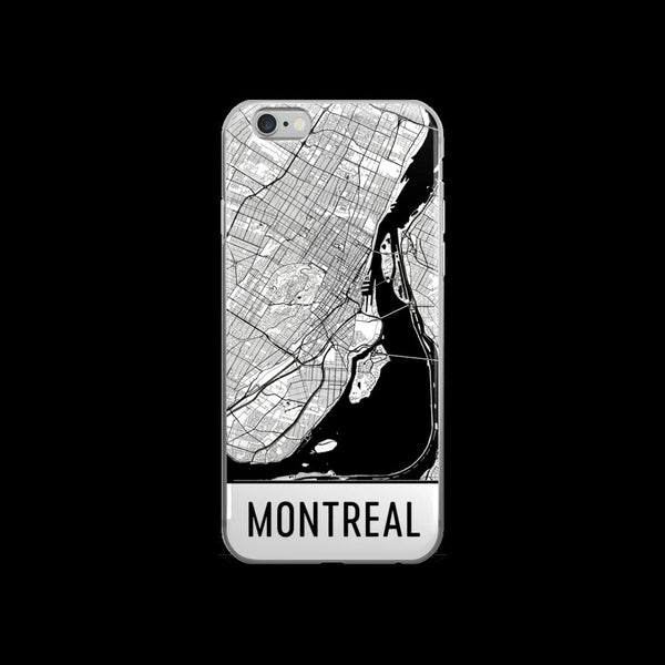 Montreal iPhone Case, Phone Case,Montreal QC Phone Case, From $24.99 - Modern Map Art - Modern Map Art