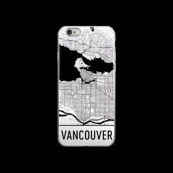 Vancouver Map iPhone 5 or 5s Case by Modern Map Art