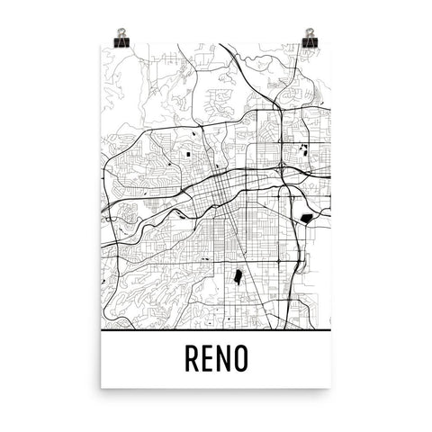 Nevada Gifts, Souvenirs, and NV Décor – Modern Map Art