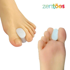 Image of Gel Toe Separators with No Loop - 6 Pack - ZenToes