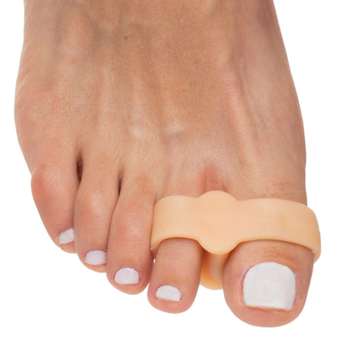 Double Loop Toe Separator for Bunion Pain Relief - 4 Count