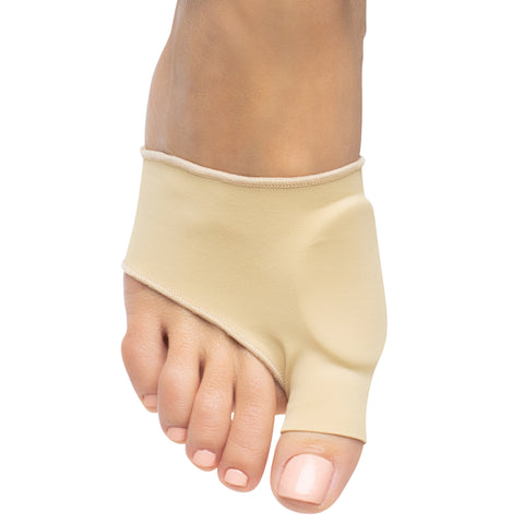 ZenToes Bunion Pad Pain Relief Sleeves Half Sock Cushion Padding Left Right Feet Small Large