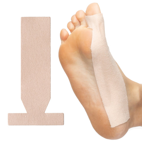Turf Toe T-Straps - 10 Pack Moleskin Splints - ZenToes Zen Toes