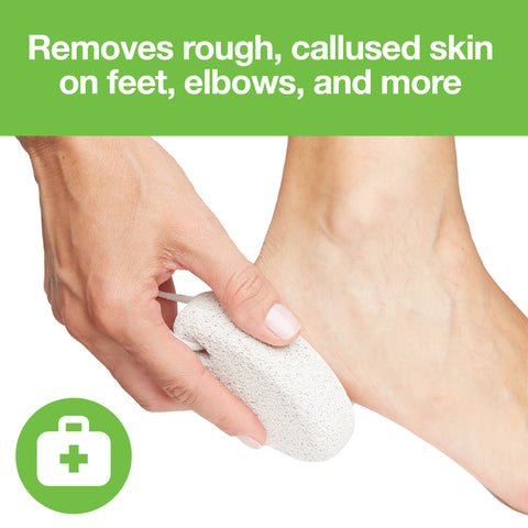 Natural Lava Pumice Stone Pedicure Callus Remover - 2 Pack - ZenToes