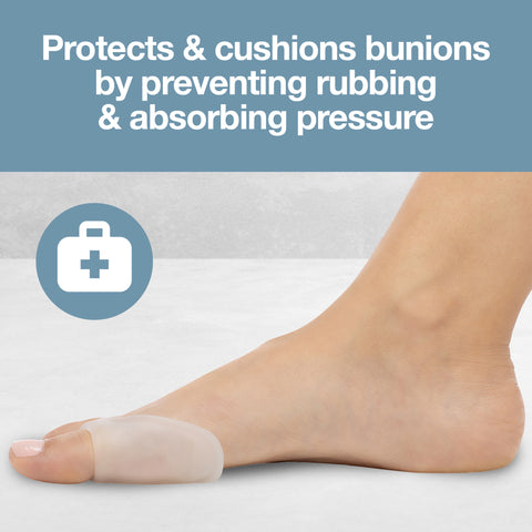 ZenToes 4 Pack Bunion Pads, Gel Bunion Guard - ZenToes Zen Toes