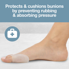 Image of 4 Pack Bunion Pads, Gel Bunion Guard - ZenToes