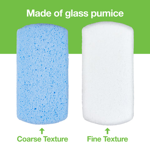 Pedicure Pumice Stones Double Sided - 2 Pack - ZenToes
